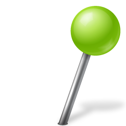Map-Marker-Ball-Right-Chartreuse-icon
