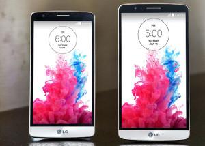 LG G3 s vs. LG G3 / (c) LG